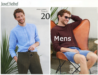 Josef Seibel Mens Spring Summer 2020