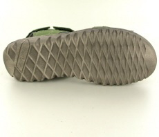 Josef Seibel Lucia 15 Green Leather Sandal - View 2