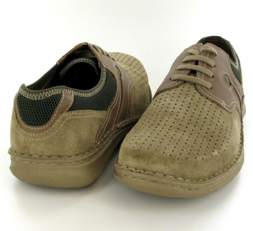 leather shoe Nude