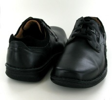 Josef Seibel Anvers 36 Black Leather Shoe - View 3