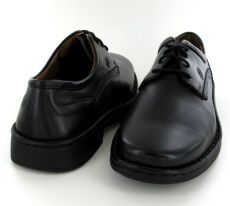 Josef Seibel Talcott Black Leather Shoe - View 3