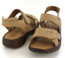Josef Seibel Debra Natural  Leather Sandal  - View 3