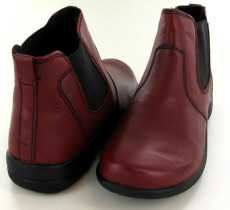 Josef Seibel Fabienne 47 Red Leather Boot - View 3