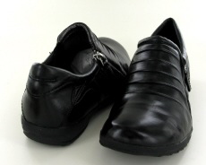 Josef Seibel Naly 13 Black Leather Shoe - View 3