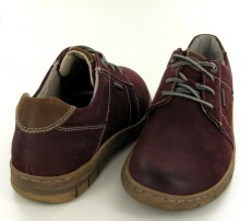 Josef Seibel Steffi 59 Bordo Leather Shoe - View 3