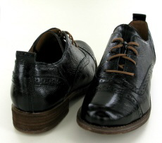 Josef Seibel Sienna 73 Black Leather Patent Shoe - View 3