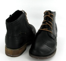 Josef Seibel Sienna 74 Black Leather Boot - View 3