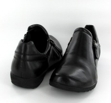 Josef Seibel Naly 32 Black Leather Shoe - View 3