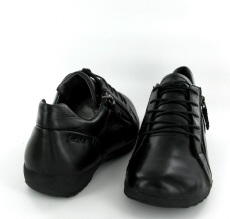 Josef Seibel Naly 38 Black Leather Shoe - View 3