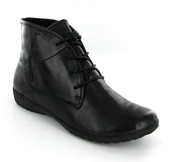 Josef Seibel Naly 09 Black Leather Boot