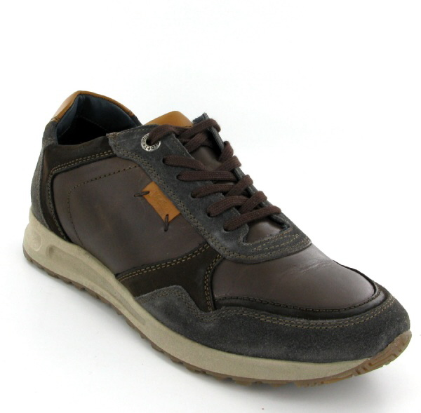 Josef Seibel Thaddeus 12 Asphalt Multi Leather Shoe