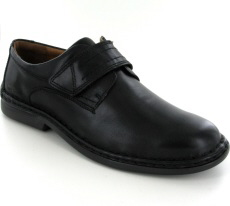 Josef Seibel Vigo 09 Black Leather Shoe