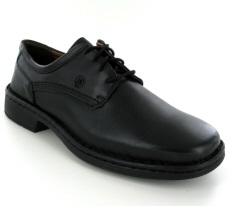 Josef Seibel Talcott Black Leather Shoe - View 1
