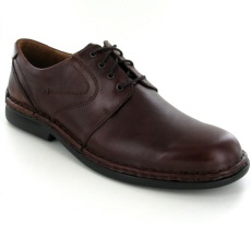 Josef Seibel Walt Brandy Leather Shoe - View 1