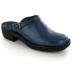 Josef Seibel Betsy Abisso (Blue) Leather Mule