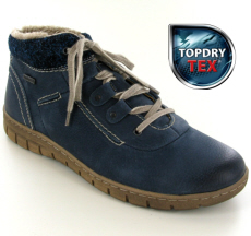 Josef Seibel Steffi Son 13 Blue Leather Boot