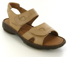 Josef Seibel Debra Natural  Leather Sandal