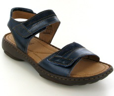 Josef Seibel Debra 19 Denim Leather/Suede Sandal