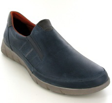 Josef Seibel Cliff 07 Ocean Leather Shoe