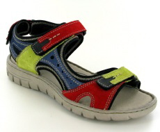 Josef Seibel Stefanie 23 Red Multi Sandal