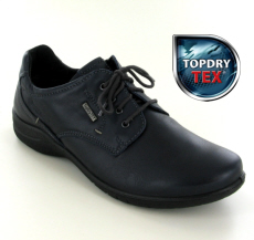 Josef Seibel Fabienne 57 Ocean (Navy) Leather Shoe - View 1