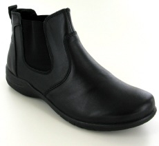 Josef Seibel Fabienne 47 Black Leather Boot