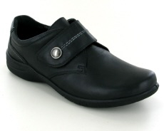 Josef Seibel Fabienne 05 Black Leather Shoe