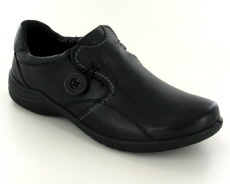 Josef Seibel Fabienne 27 Black Leather Shoe