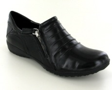 Josef Seibel Naly 13 Black Leather Shoe