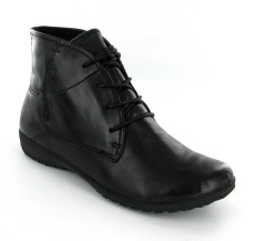 Josef Seibel Naly 09 Black Leather Boot - View 1