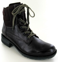 Josef Seibel Sandra 64 Bordo Leather Boot