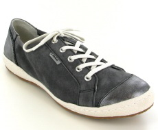 Josef Seibel Caspian 14 Asphalt (Grey) Nubuck/Leather Shoe