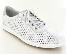 Josef Seibel Dany 49 White Leather Shoe