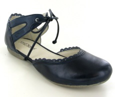 Josef Seibel Fiona 47 Ocean (Navy) Leather Shoe