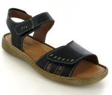 Josef Seibel Lisa 01 River (Blue) Leather Sandal