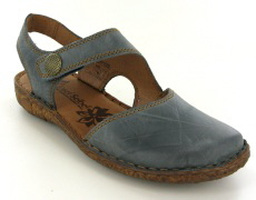 Josef Seibel Rosalie 27 Jeans Leather Sandal