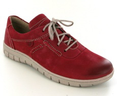 Josef Seibel Steffi Son 07 Red Nubuck Shoe
