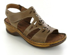 Josef Seibel Catalonia 56 Sand Leather Sandal
