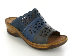 Josef Seibel Catalonia 60 Ocean Multi Leather Mule