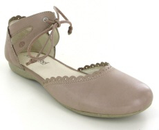 Josef Seibel Fiona 47 Sand Leather Shoe