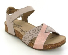 Josef Seibel Tonga 49 Nude Leather Sandal