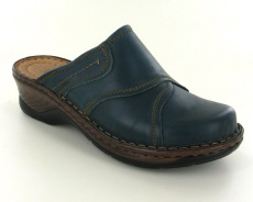 Josef Seibel Catalonia 68 Aqua Leather Mule