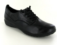 Josef Seibel Naly 11 Black Leather Shoe