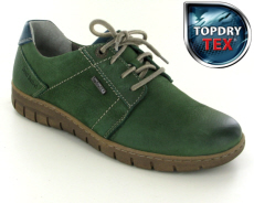 Josef Seibel Steffi 59 Green Leather Shoe