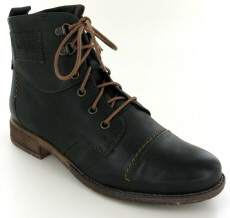 Josef Seibel Sienna 17 Olive Leather Boot