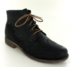 Josef Seibel Sienna 15 Black Leather Boot