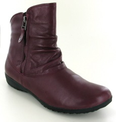 Josef Seibel Naly 24 Bordo Leather Boot