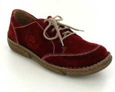 Josef Seibel Neele 02 Red Suede Shoe