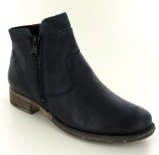 Josef Seibel Sienna 87 Ocean (Navy) Leather Boot