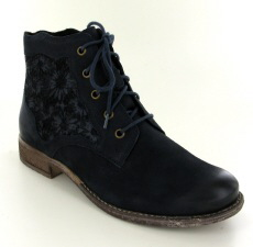 Josef Seibel Sienna 79 Ocean (Navy) Leather Boot